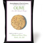Food Should Taste Good Olive Tortilla Chip