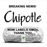Chipotle Now Labels GMO